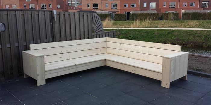 Mp bouw aanleg tuinmeubelen van o a steigerhout zaandam - Tuinmeubelen ontwerp ...